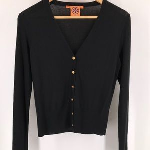 Tory Burch Black Rosemary Cardigan
